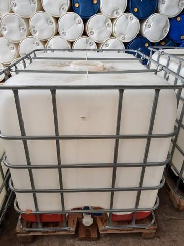 Contêiner de 1000 LT completo para água de reúso, combustível