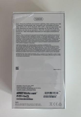 IPhone XR 128GB Preto Novo com NF - Foto 4