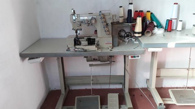 Máquina de costura gasolineira industrial