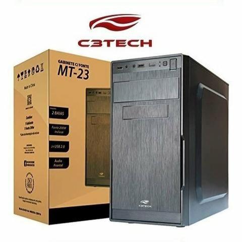 Gabinete C3TECH com Fonte ATX 200W Real