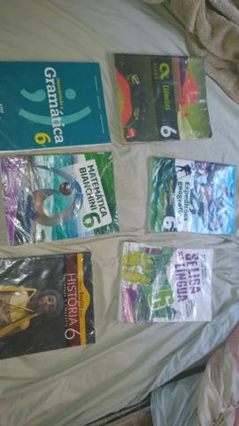 Livros do 6 ano