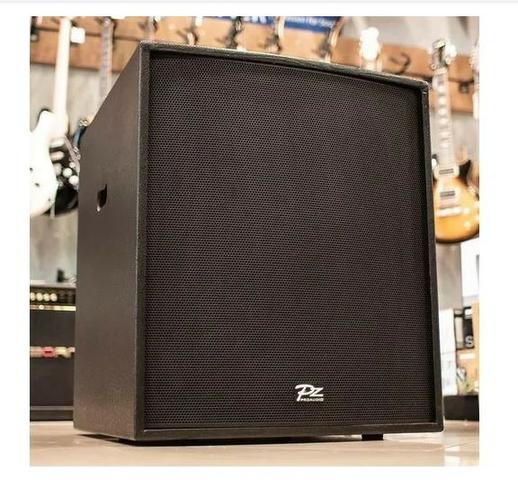 Caixa Pz Audio Sub Grave 18 Ativo 800w