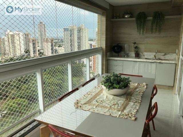 Apartamento com 4 dormitórios à venda, 163 m² por R$ 1.100.000,00 - Jardim Goiás - Goiânia - Foto 4