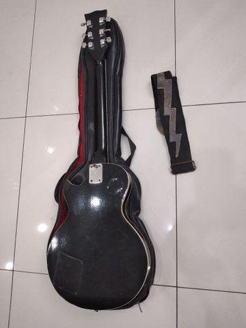 Guitarra Golden modelo Les Pool Preta