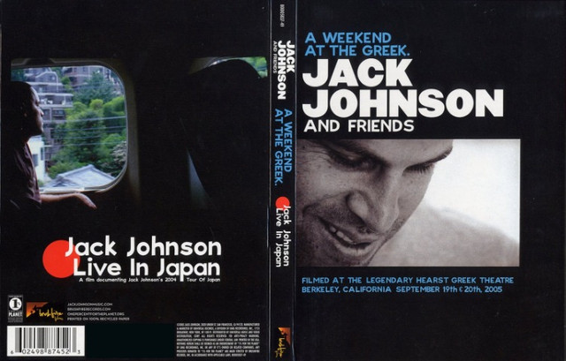 DVD Jack Johnson - A Weekend at the Greek (Original, Duplo e Raro) - Foto 4