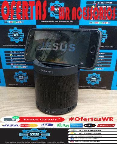 Caixa De Som Bluetooth Q3 + Brinde e Entrega Grátis - Foto 4
