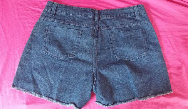 Shorts Jeans Plus Size Marguerite - Foto 2