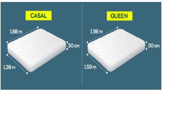 Dossel Mosqueteiro Para Cama de Casal Padrão ou Queen Size - Foto 2