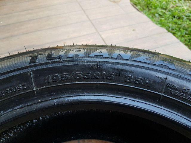 Pneu Bridgestone R15 (195/55) - Foto 2