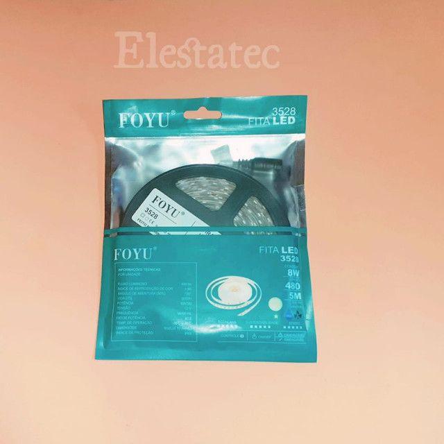 Kit Fita de led com fonte 12V - 3A  - Foto 2