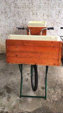 Bicicleta cargueira NOVA. Leia anúncio.