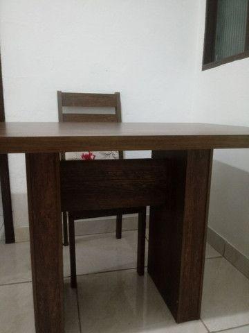 Vendo messa com 3 cadeira - Foto 2