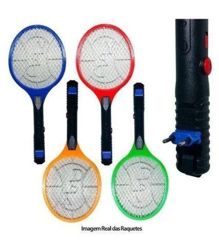Raquete eletrica mata mosquito - Foto 2
