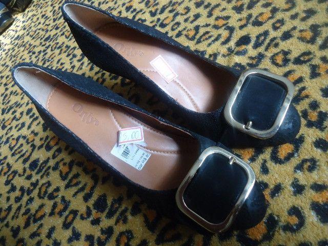 Calçado feminino N°35 semi novo - Foto 2