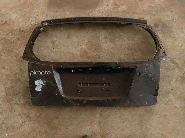 Tampa traseira Kia Picanto 2010 Usada