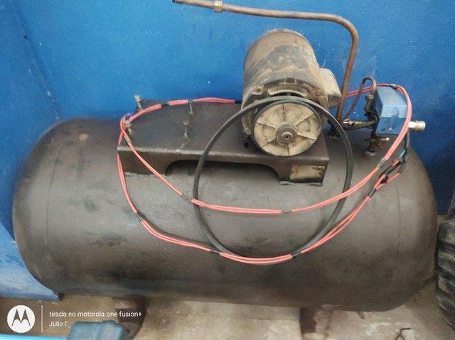 Garrafão de compressor de ar