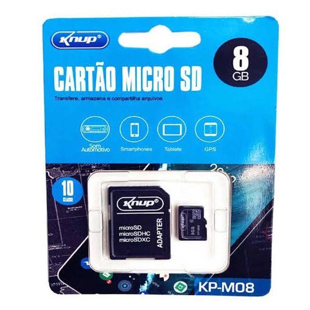 Cartão De Memória Micro Sd 8 GB Inova - Foto 2