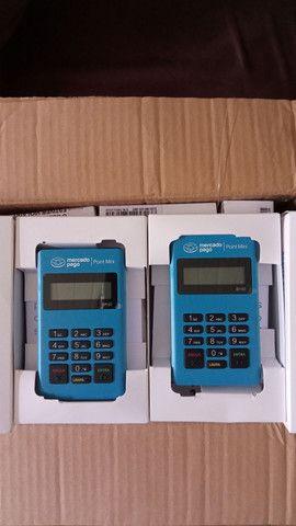 Máquina de cartão de credito e debito mercado pago - Foto 2