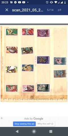 Coleção de selos - Foto 3