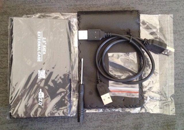 CASE para HD externo p/ notebook