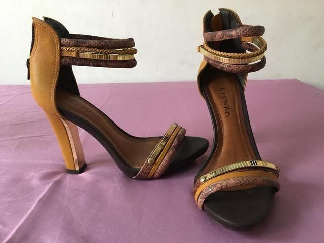 Sapato salto alto n.37