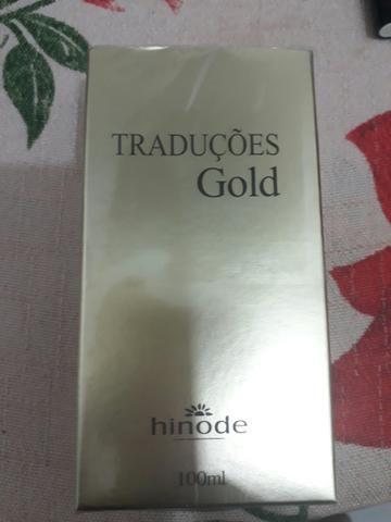 Perfumes traduções Gold masculino