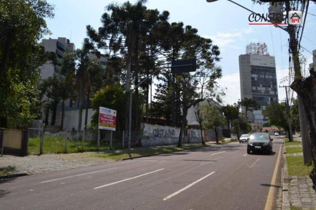 Terreno à venda, 600 m² por R$ 1.500.000,00 - Mercês - Curitiba/PR