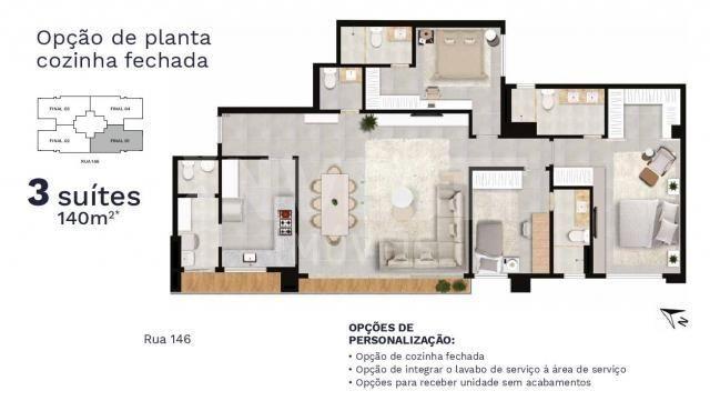 Apartamento à venda com 3 dormitórios em Setor marista, Goiânia cod:620888 - Foto 6