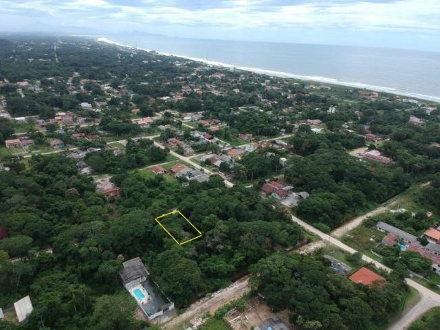 Ótimo terreno plano bem localizado em itapoá no balneário das palmeiras, medindo 12 x 32 t - Foto 3