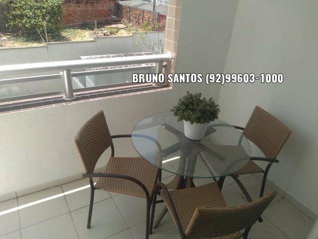 Family Morada do Sol / Aleixo. Pertinho do Adrianópolis. Apartamento com três quartos - Foto 2