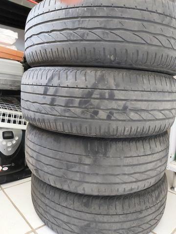 Pneu Bridgestone Turanza 185/55/16 Meia vida 4 unidades - Foto 3
