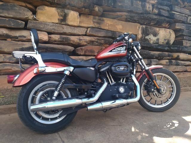Harley Davidson 883 R + acessórios