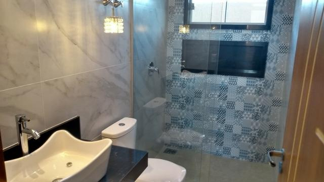 Samuel Pereira oferece: Casa 3 Quartos Nova Moderna Sobradinho Churrasqueira Condomínio - Foto 12