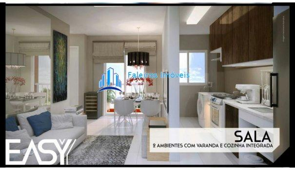 Apartamento 2 dormitórios com sacada e lazer - Apartamento em Lançamentos no bai... - Foto 3