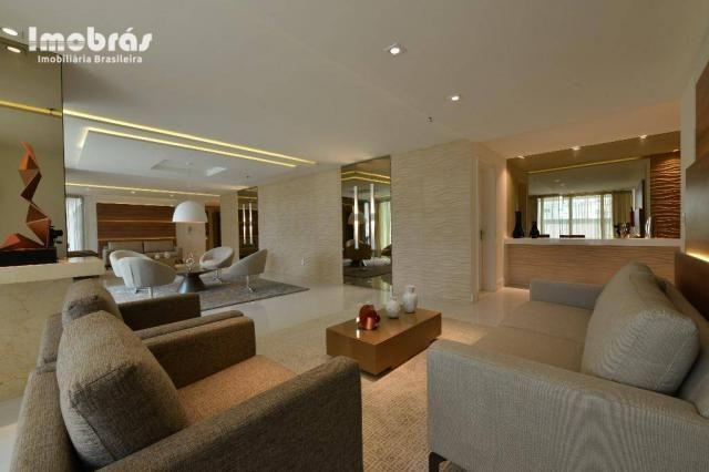 Contemporâneo, apartamento com 3 dormitórios à venda, 144 m² por R$ 1.420.000 - Aldeota -  - Foto 4