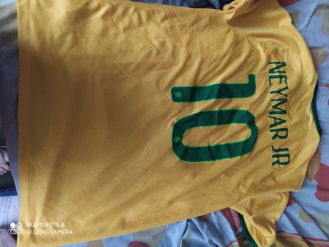 Camisa da Seleção Brasileira - Foto 2
