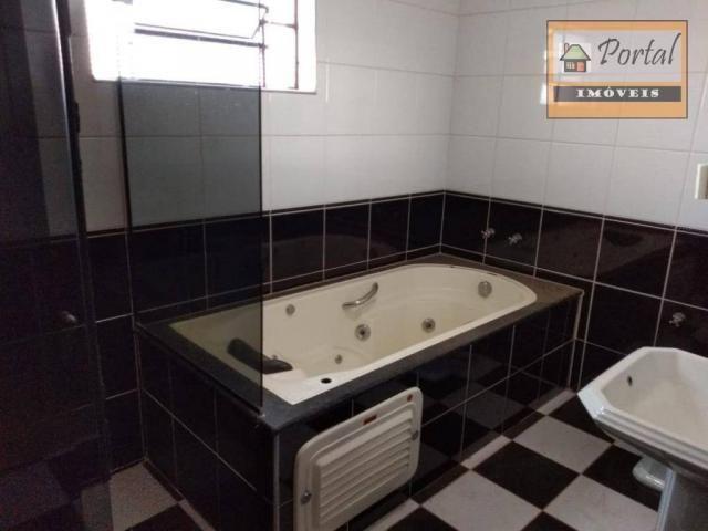 Chácara com 2 dormitórios para alugar, 250 m² por R$ 2.600/mês - Gramado Santa Rita - Camp - Foto 19