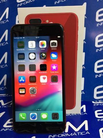 IPhone 8 Plus 64GB Red - Seminovo - Com Garantia - loja Niterói - Foto 2