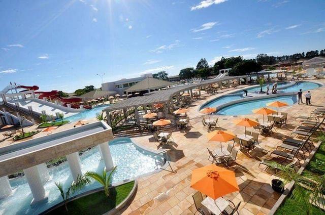 Hotel Lacqua diroma diária a 100 reais p/ 5 pessoas com parque aquático aberto 24h - Foto 4