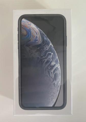 IPhone XR 128GB Preto Novo com NF