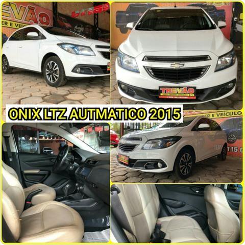 Onix LTZ 2015 automático Trevao Veiculos