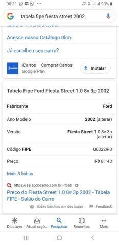 Fiesta street vendo ou troco por moto - Foto 3