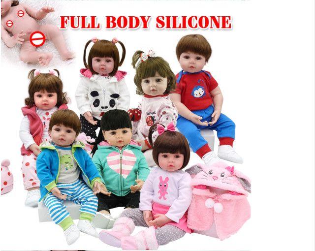 Bebe Reborn 100% Silicone 48cm Girafinha Menina Npk Original