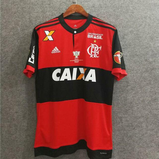 Camisa Adidas Flamengo 2017/18 (Final Copa do Brasil)
