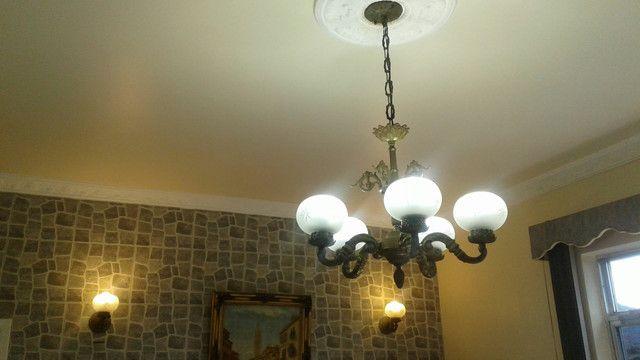 Lustre e luminárias de bronze - Foto 2
