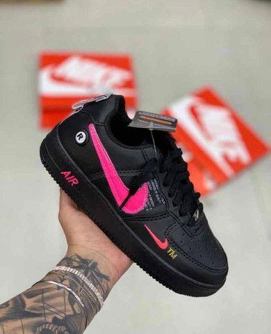 @ mandellashoes Tênis Nike Air Force Cano Curto Edição Limitada Promo 50% OFF ATÉ 12x - Foto 4