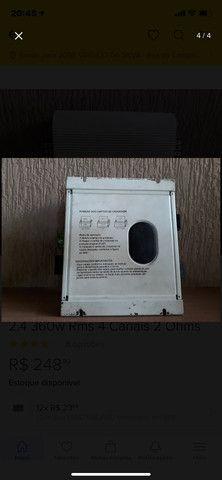 Módulo Amplificador Banda Voxer 2.4 360w Rms 4 Canais 2 Ohms - Foto 4