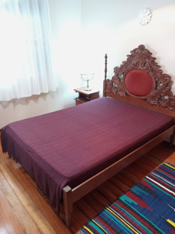 Cobertor Manta Colcha Casal 2,4x1,8 Cores Lisas 100% Algodão - Foto 3