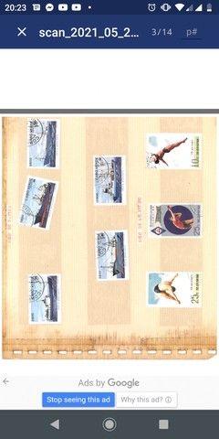 Coleção de selos - Foto 4
