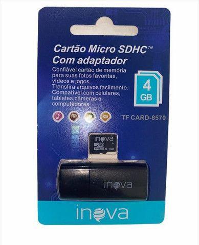 Cartão De Memória Micro Sd 4gb Inova - Foto 3